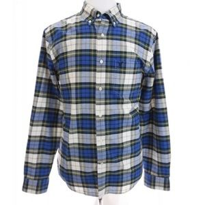 American Eagle AEO Classic Fit Button Down Up Sz L